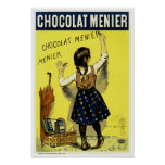 Chocolate Menier Posters