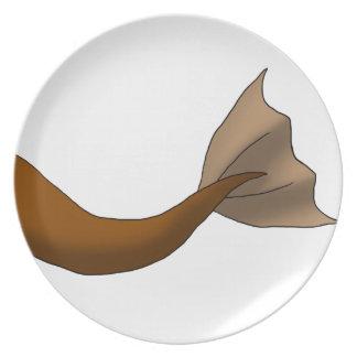 Chocolate Mermaid Tail Plates