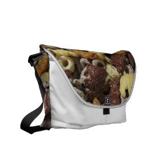 Chocolate Messenger Bag