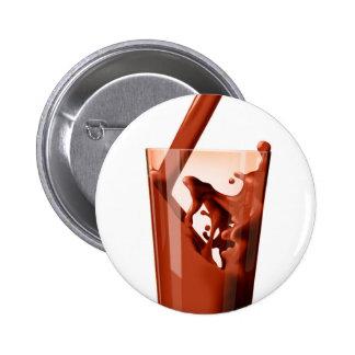 Chocolate Milk Pinback Button