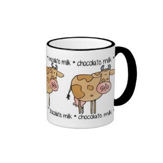 chocolate milk ringer coffee mug