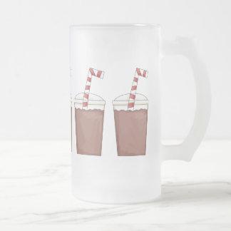 Chocolate Milk Shake frosted mug