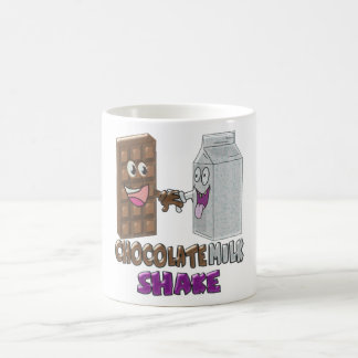 Chocolate milk shake,funny coffee mug