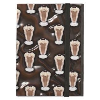 Chocolate Milkshake Pattern Case For iPad Air