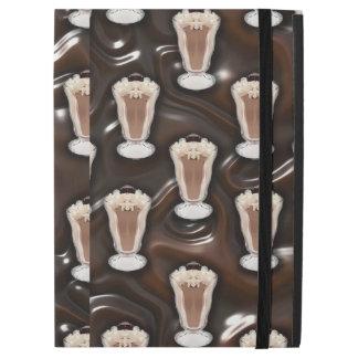 "Chocolate Milkshake Pattern iPad Pro 12.9"" Case"