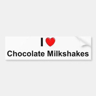 Chocolate Milkshakes Bumper Sticker