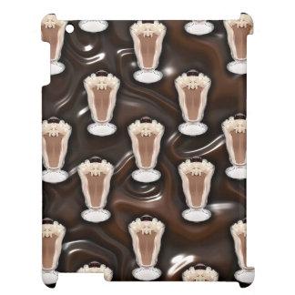 Chocolate Milkshakes Pattern Case For The iPad
