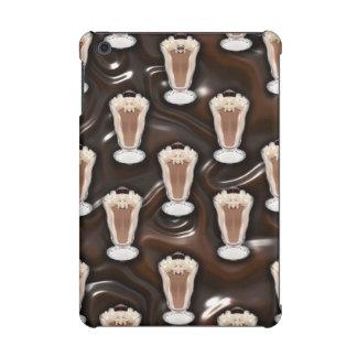 Chocolate Milkshakes Pattern iPad Mini Case