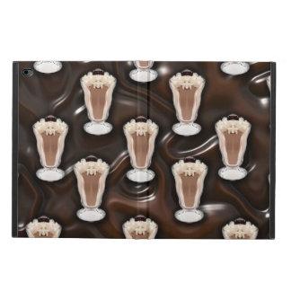 Chocolate Milkshakes Pattern Powis iPad Air 2 Case