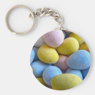 Chocolate Mini Eggs Keychain