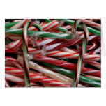 Chocolate Mint Candy Canes Card