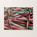 Chocolate Mint Candy Canes Jigsaw Puzzle
