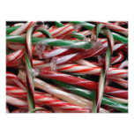 Chocolate Mint Candy Canes Photo Print