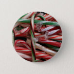 Chocolate Mint Candy Canes Pinback Button