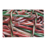 Chocolate Mint Candy Canes Placemat
