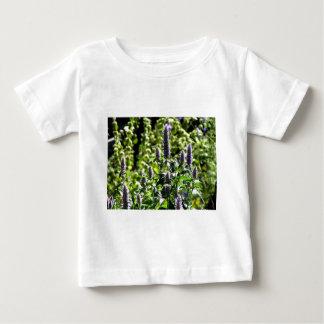 Chocolate Mint in the Summer Garden Baby T-Shirt
