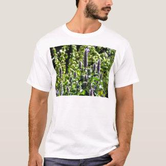 Chocolate Mint in the Summer Garden T-Shirt