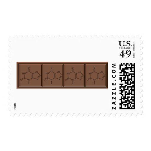 Chocolate Molecule Stamp