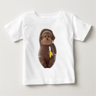 Chocolate Monkey Baby T-Shirt