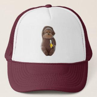 Chocolate Monkey Trucker Hat