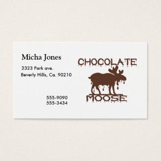 Chocolate Moose Business Card