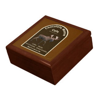 Chocolate Moose Cafe Gift Box