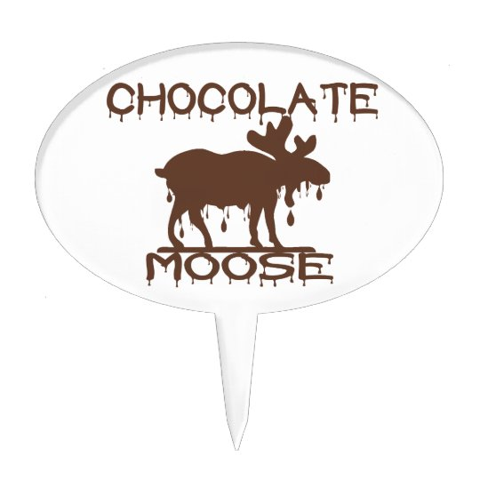 Chocolate Moose Cake Topper