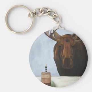 Chocolate Moose Keychain