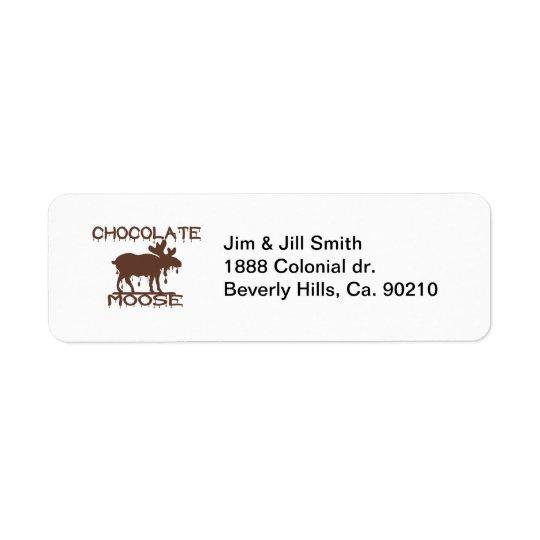 Chocolate Moose Label