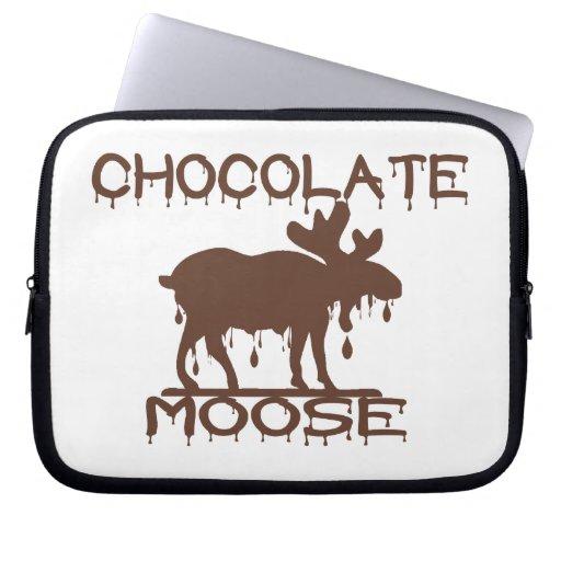 Chocolate Moose Laptop Sleeves
