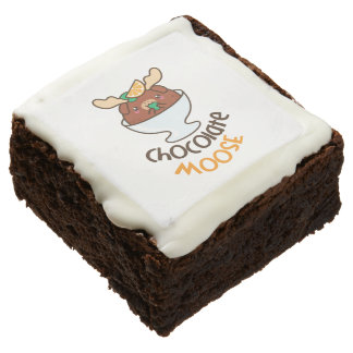 Chocolate Moose Mousse Chocolate Brownie