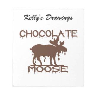 Chocolate Moose Notepad