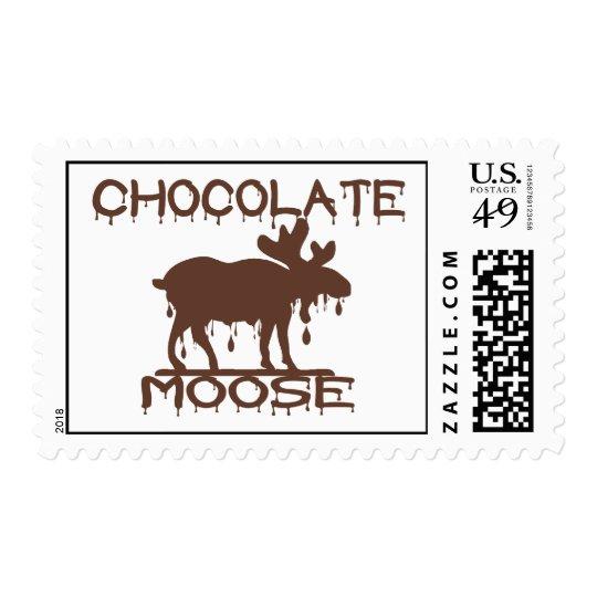 Chocolate Moose Postage