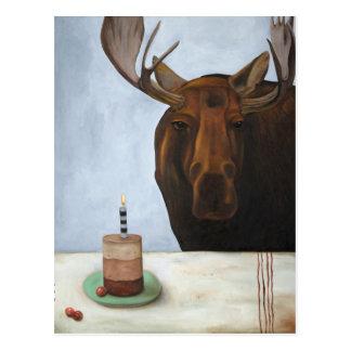 Chocolate Moose Postcard