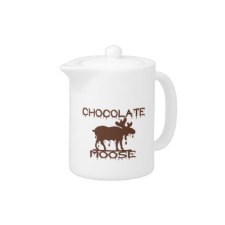 Chocolate Moose Teapot