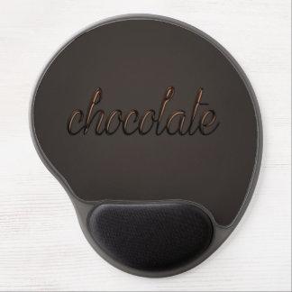 Chocolate mousepad gel mouse pad