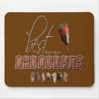 Chocolate - Mousepad Alfombrilla De Ratones