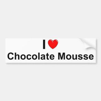 Chocolate Mousse Bumper Sticker