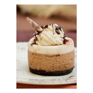 Chocolate Mousse Cake Poster