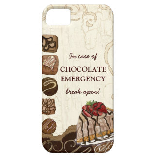 Chocolate Mousse Emergency Strawberry Candy Swirl iPhone SE/5/5s Case