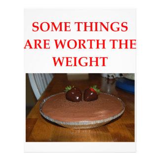 chocolate mousse letterhead