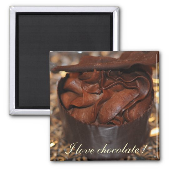 Chocolate Mousse Magnet