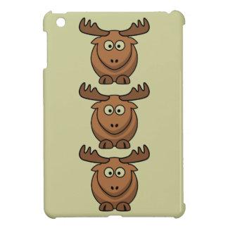 Chocolate Mousse Moose ipad mini case