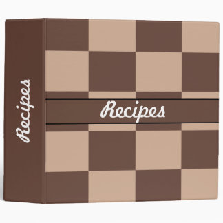Chocolate Mousse Pie Colors 3 Ring Binder
