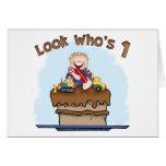 Chocolate Mud 1st Birthday Invitation Greeting Cards