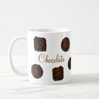 Chocolate mug mug