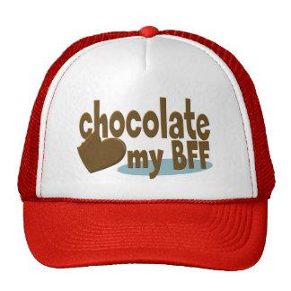 Chocolate My BFF Trucker Hat