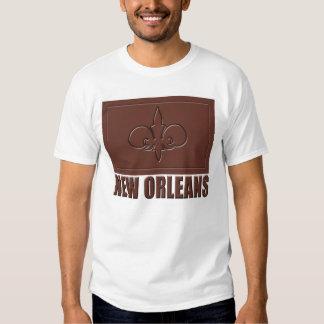 Chocolate New Orleans Playeras
