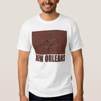 Chocolate New Orleans Tee Shirt