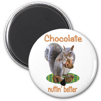 Chocolate Nut Magnet